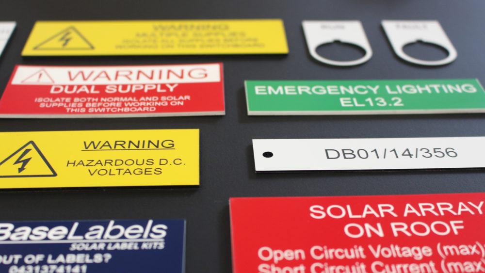 Traffolyte Engraved Plastic Labels Australia