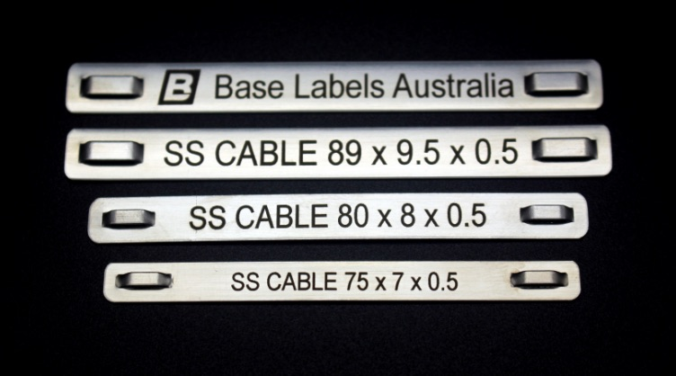 Stainless Steele Cable Markers
