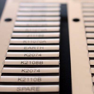 Core Markers for electrical cabling
